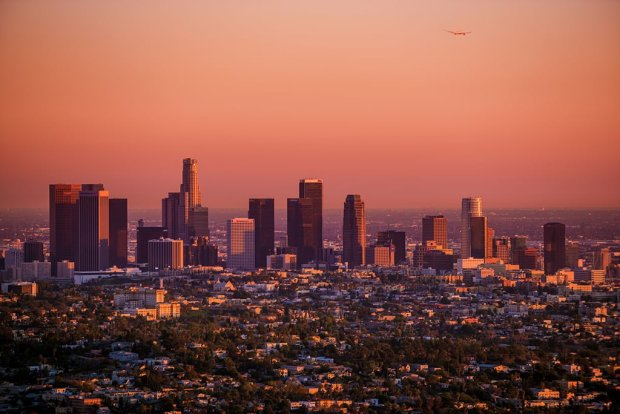 los-angeles-skyline-sunset