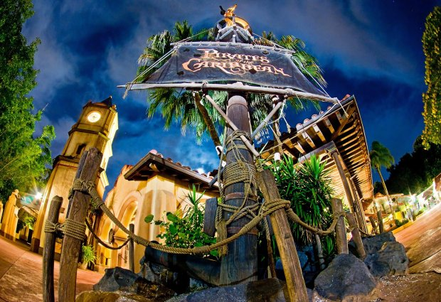 pirates-caribbean-night-exterior-disney-world-magic-kingdom-fisheye-bricker