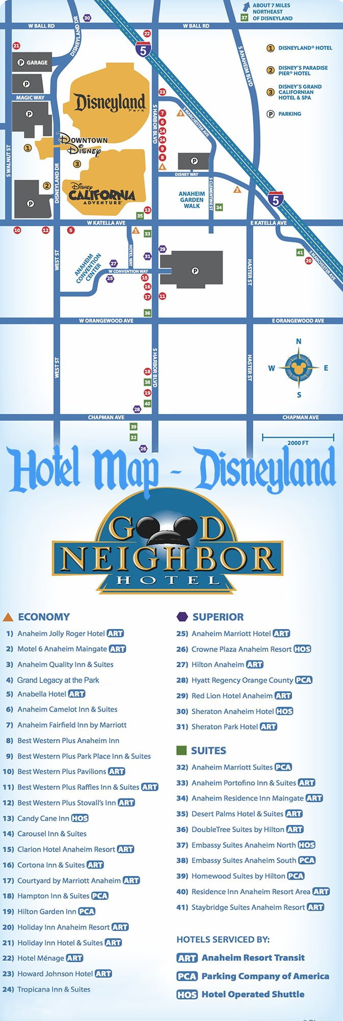 Good Neighbor Disneyland Hotels Reviews