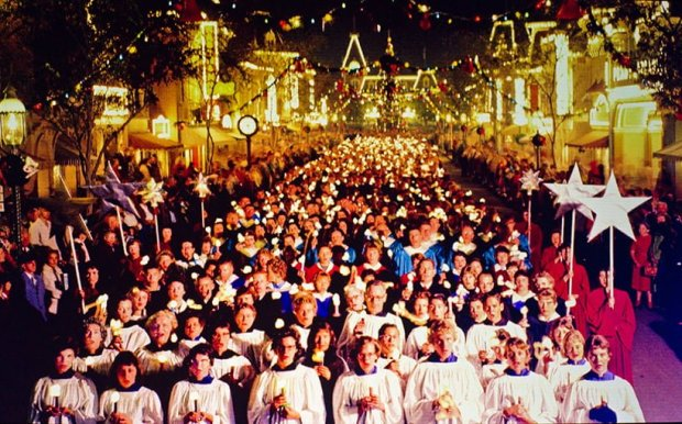 disneyland-candlelight-processional-history