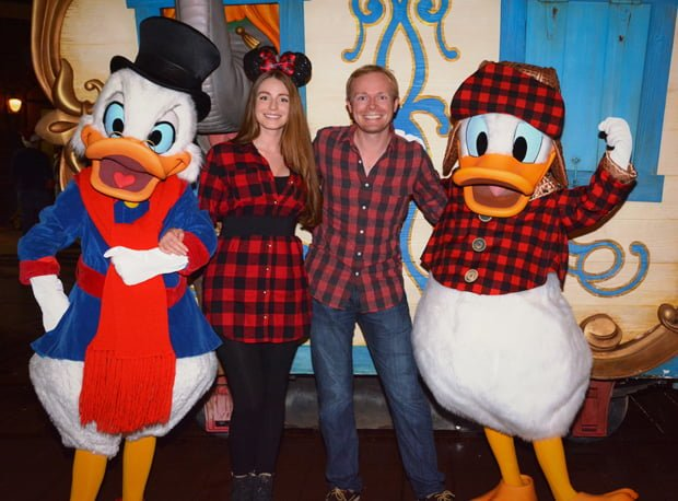 sarah tom bricker plaid donald scrooge this report includes our photos and thoughts from the 2016 mickeys very merry christmas party