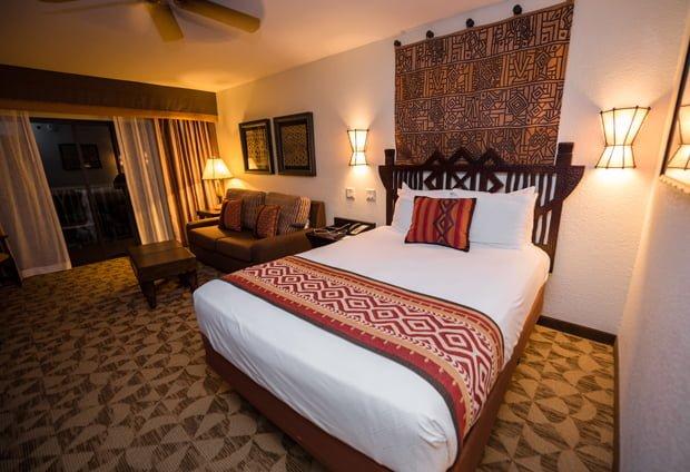 Disney Animal Kingdom Lodge Jambo House Rooms