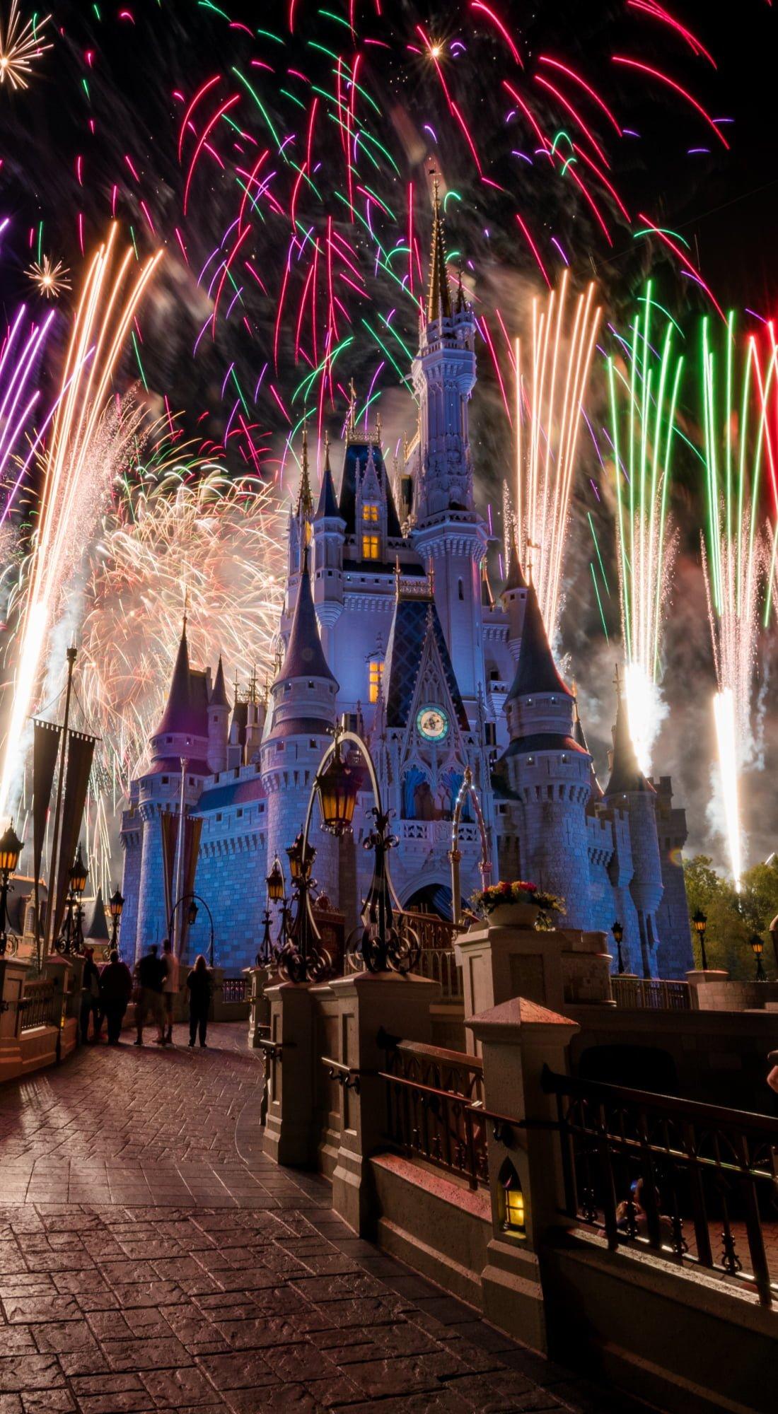 Disney World Night Wallpaper