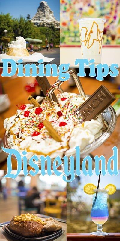Best dinner options disneyland