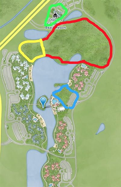 Caribbean Beach Resort Construction Update  Fall 2017  Disney