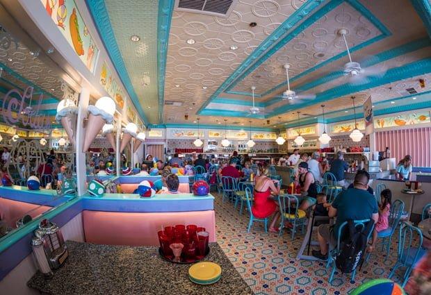 Chocolate Lover\'s Kitchen Sink at Beaches & Cream - Disney Tourist Blog