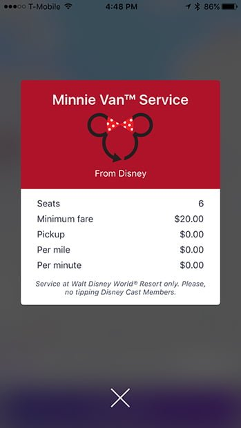 Minnie Van Review & Tips - Disney Tourist Blog