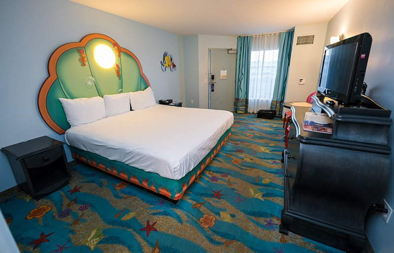 themed hotel rooms mermaid room review disney tourist 11165