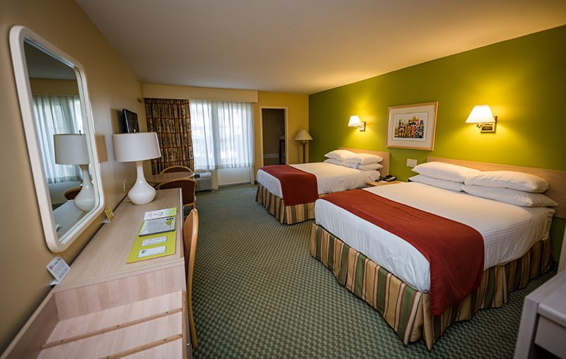 Howard Johnson Hotel Anaheim Rooms