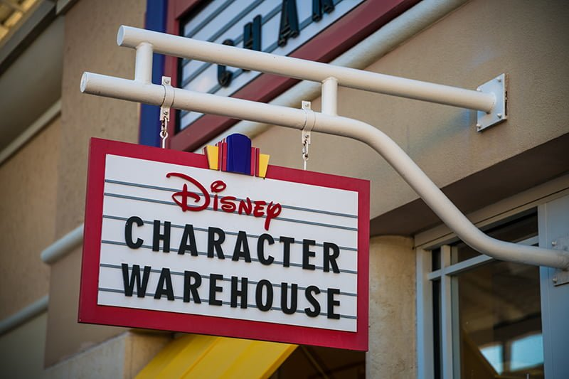 timeless design 917d3 333f6 How to Shop Outlets for Discount Disney World Merchandise