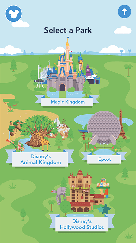 disney world park map app