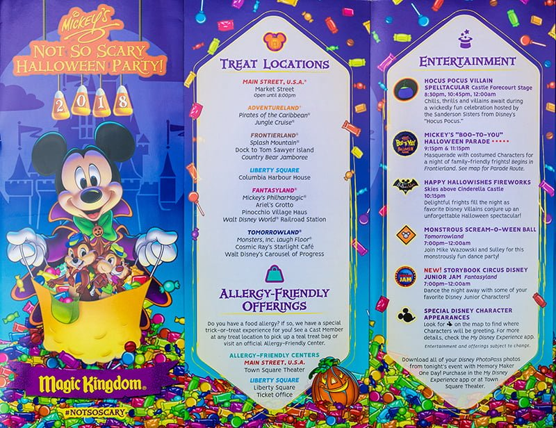 2018 Mickey S Not So Scary Halloween Party Tips Disney Tourist Blog