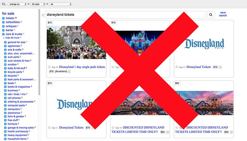 2019 Discount Disneyland Ticket Tips - Disney Tourist Blog