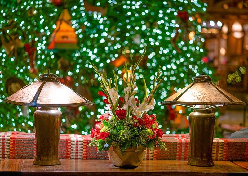 Christmas Village Display Tree Plans.Disney World Resort Christmas Decorations Tour Disney