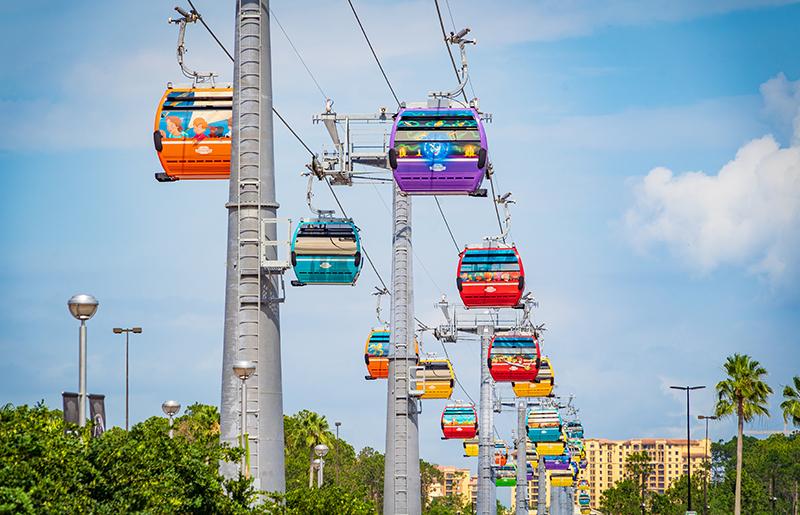 Skyliner Gondola Update - May 2019 - Disney Tourist Blog
