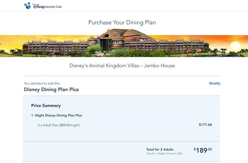 Disney Dining Plan Plus Now Available Price Increases Disney Tourist Blog