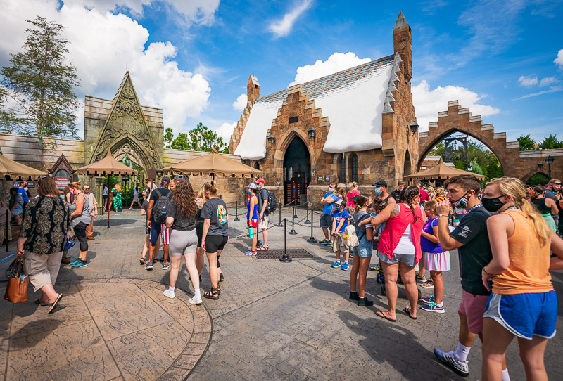 Islands of Adventure Report: Hagrid's Magical Morning - Disney Tourist Blog