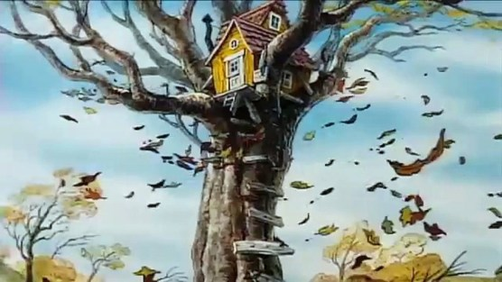 Rabbit And Christopher Robin Come Running To Help But They Do Not Think That Can Fix The House Owl Rocks In His