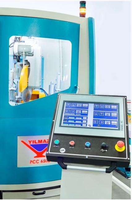 Centro de corte para Aluminio y PVC PCC 6505 de Yilmaz en Disomaq