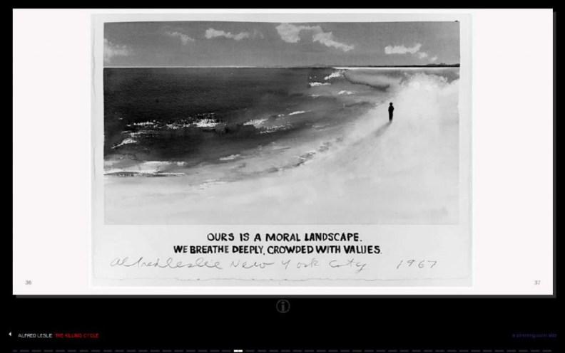 Alfred Leslie - The Killing Landscape