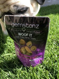 All Natural Grain Free Hemp Infused Dog Treats
