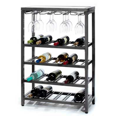 Metal Wine Rack Wine Shelfwine And Glass Rackmetal