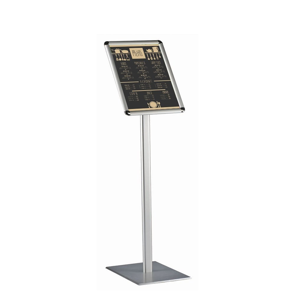 a4 snap frame poster display stand