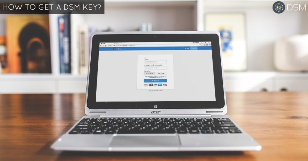 how-to-get-dsm-key