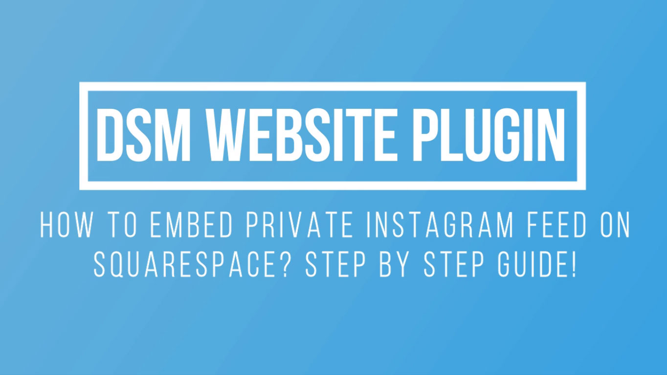 how to add instagram feed on squarespace