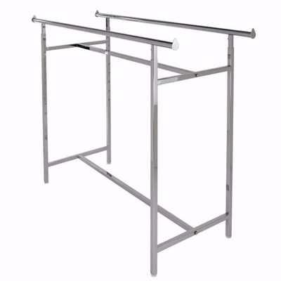 double bar clothing rack