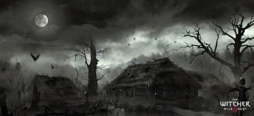 AdJV-Artiste-MarekMadej-TheWitcherVillageMort