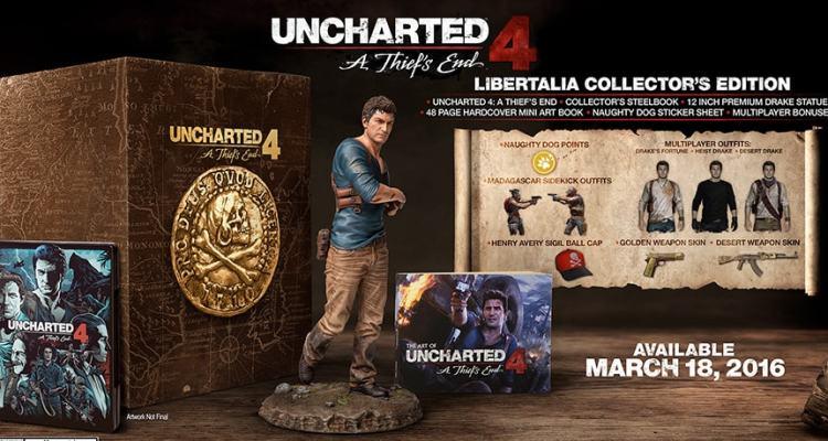 Uncharted 4 sortira le 18 mars 2016 14