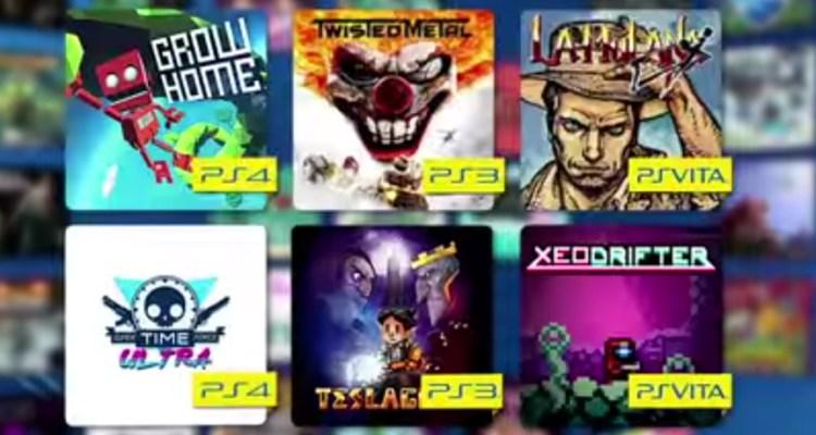 Ps+ Jeux gratuits de septembre 22