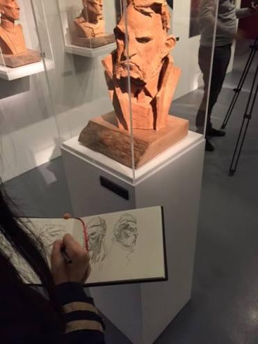Dessin devient sculpture et redevient dessin