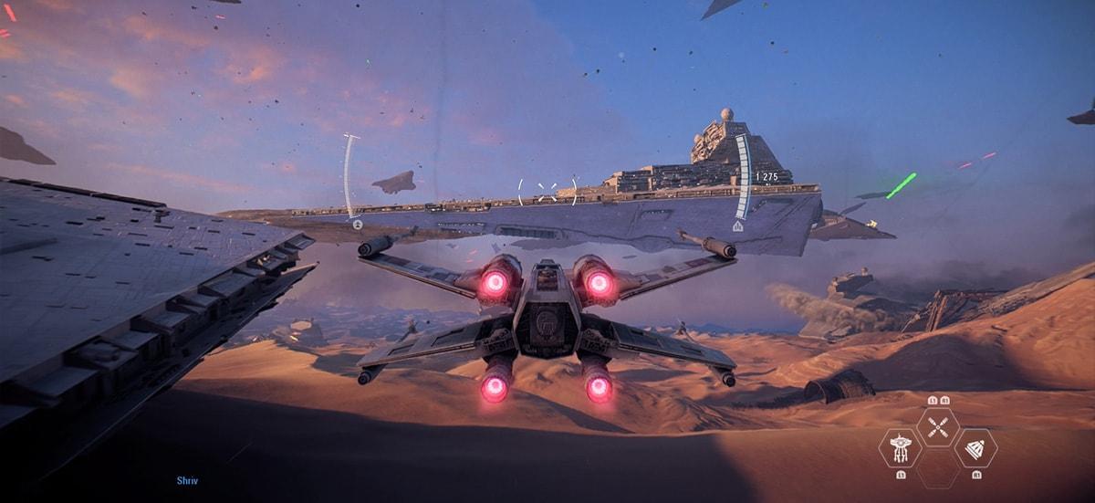 Test-StarWars-Battlefront2-Vaisseau