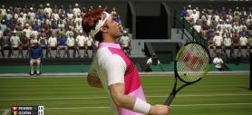 AO Tennis pelouse point gagné