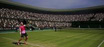 AO Tennis pelouse service