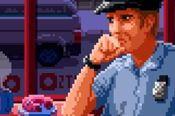 Test Beat Cop Agent Kelly Pixel Art