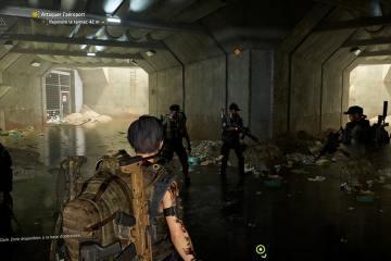Raid The Division 2, Equipe dans le tunnel