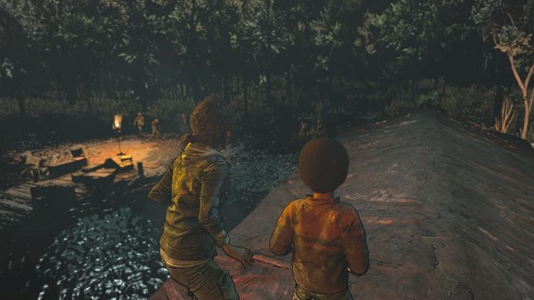 The Walking Dead Episode Final Clementine et AJ Face aux zombies