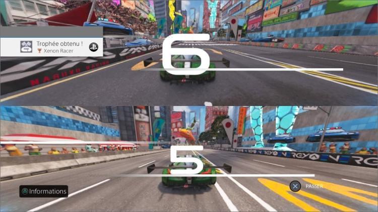 Xenon Racer Ecran Splitté