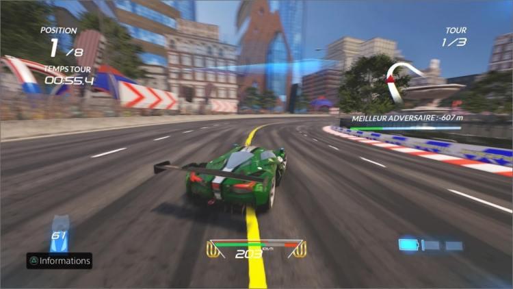 Xenon Racer En course drift