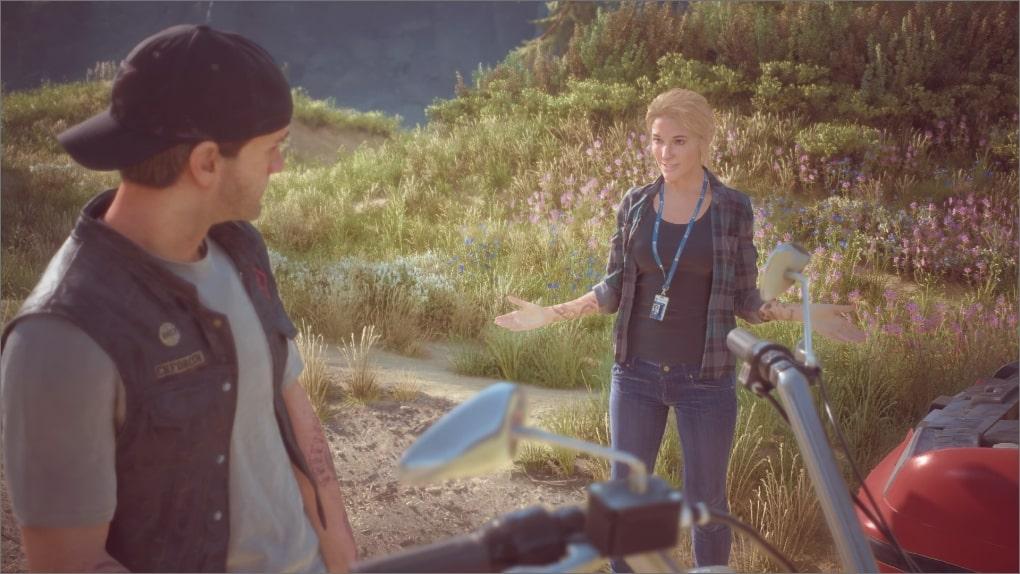Première rencontre entre Deacon et Sarah