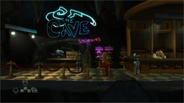 TEST The Cave boutique de souvenir