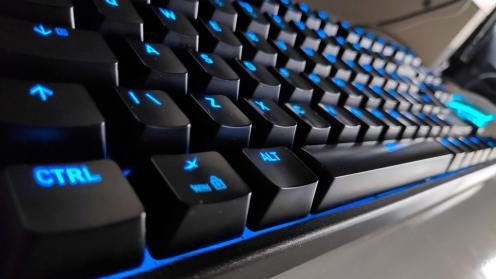 Clavier K4 Souris M4 Accessoire Gaming Xtrfy clavier retroeclairage bleu
