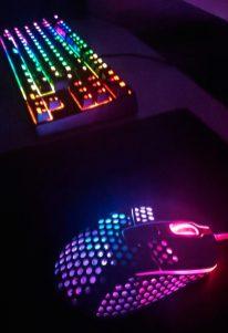 Clavier K4 Souris M4 Accessoire Gaming Xtrfy clavier lumières retroeclairage