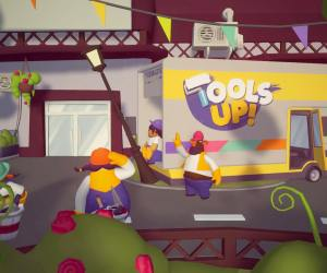 Tools Up personnages camion