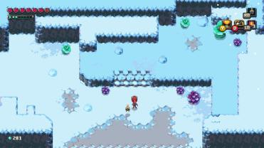 Sparklite dans la neige