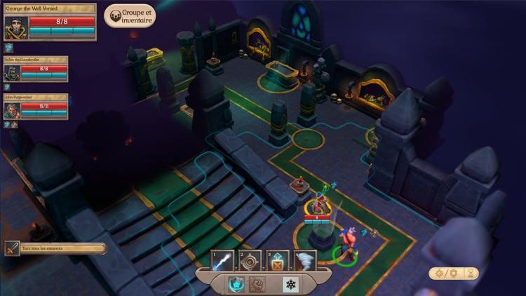 Fort Triumph personnage château combat dans la crypte