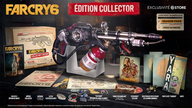 Far Cry 6 Edition Collector